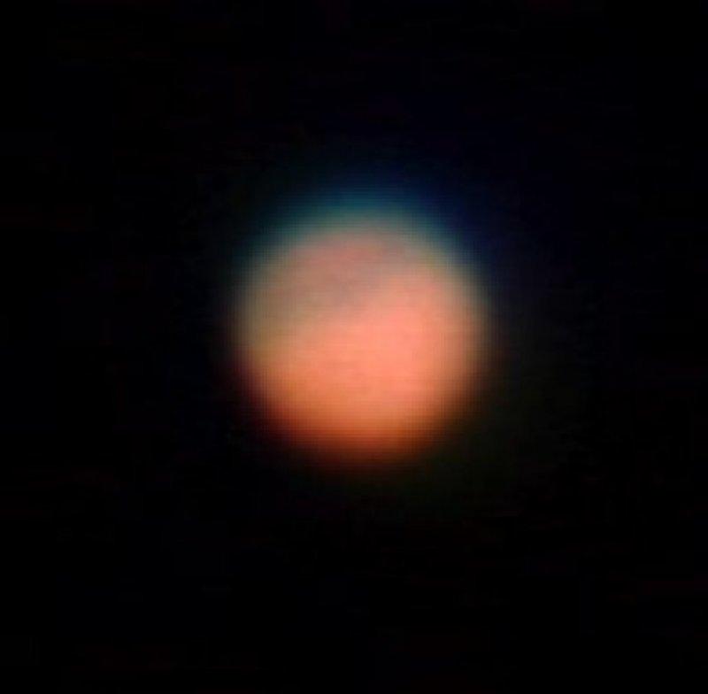 Der Mars mit dem 70/700 Skylux